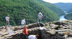 Hallan posibles restos prehistóricos humanos en la Ribeira Sacra, en Lugo