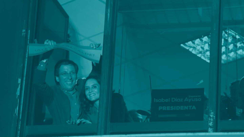José Luis Martínez Almeida e Isabel García Ayuso.