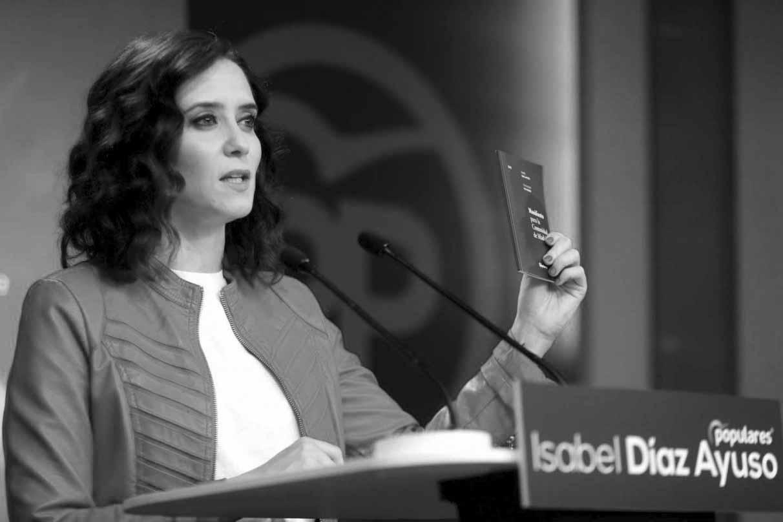 La candidata popular a la Comunidad de Madrid, Isabel Díaz Ayuso