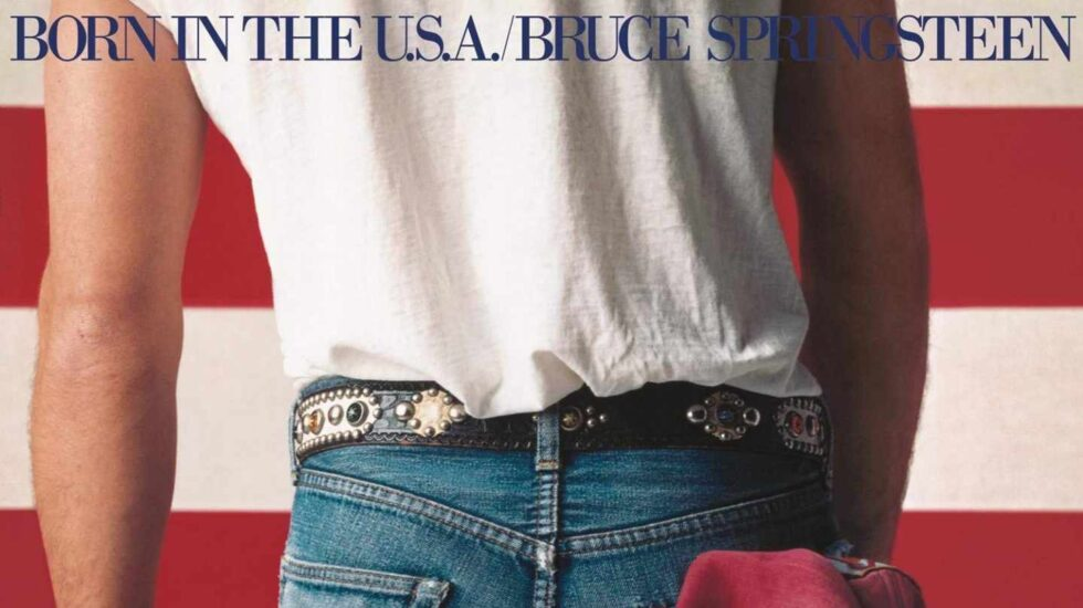 Portada de 'Born in the USA'.