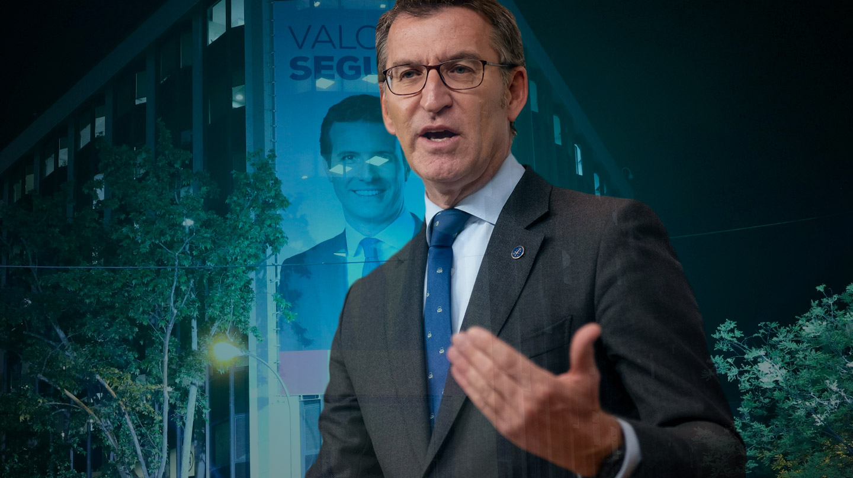 El presidente de la Xunta gallega, Alberto Núñez Feijóo