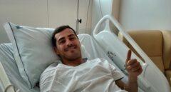 Iker Casillas, en la imagen colgada en su cuenta de Twitter.
