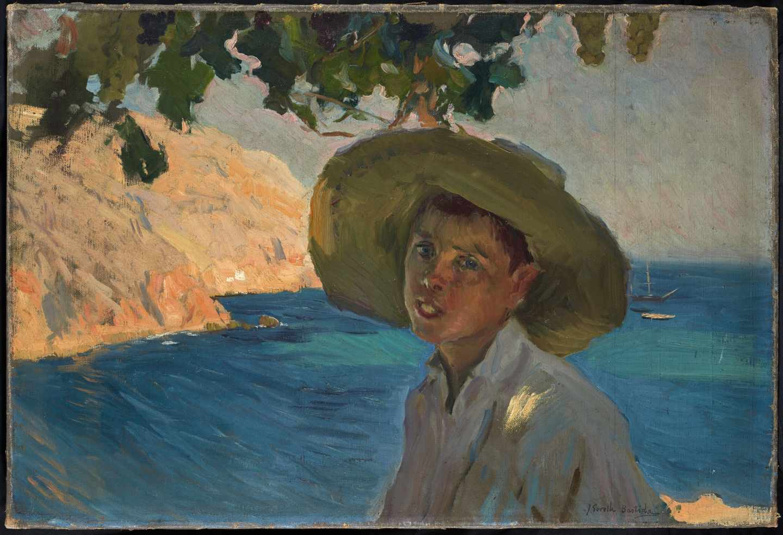 'Chico con Sombrero', de Joaquín Sorolla.