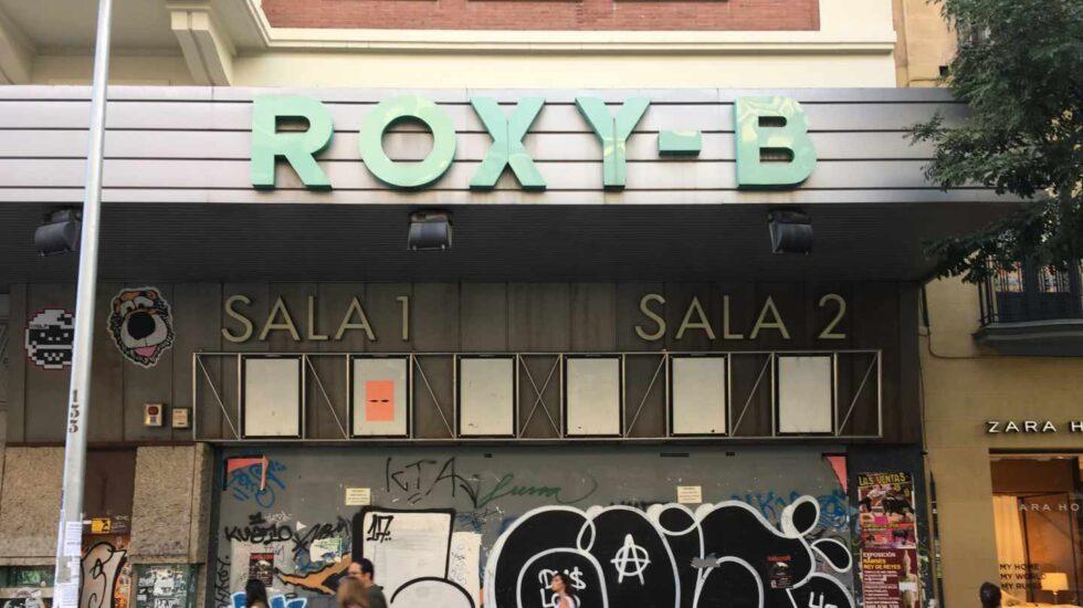 Cines Roxy de Madrid el 2018.