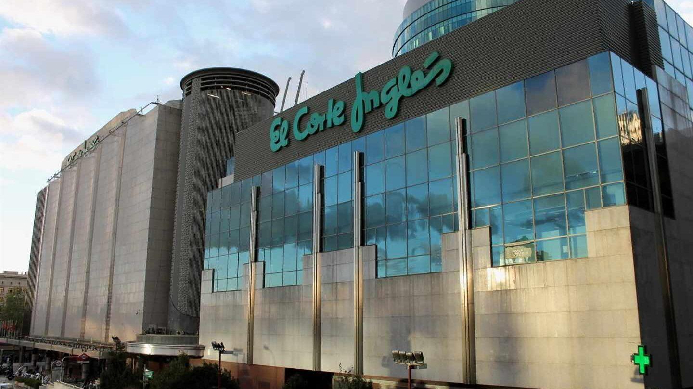 Uno de los centros de El Corte Inglés en Madrid.