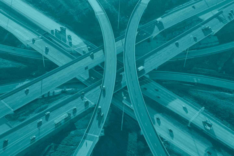 Autopista ETR 407, gestionada por Ferrovial.