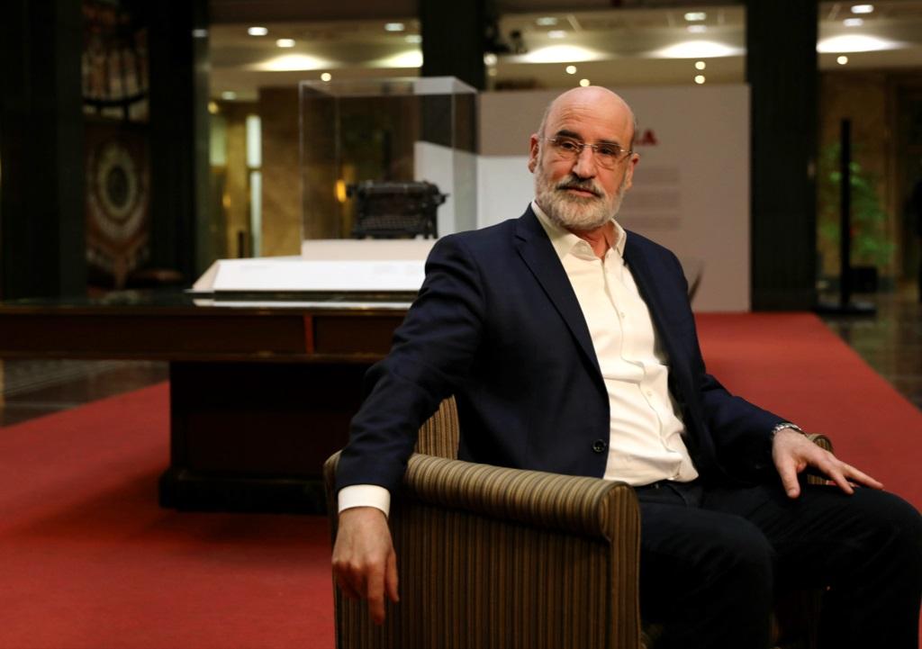 El escritor guipuzcoano, autor de 'Patria'. Fernando Aramburu.
