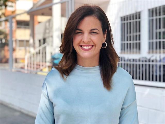 Sandra Gómez, la candidata del PSPV.