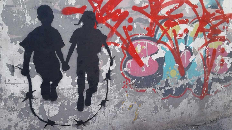 Grafiti de Cakes $ en Palestina