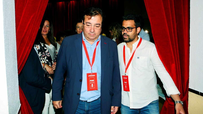 Guillermo Fernández Vara logra la mayoría absoluta y repite presidencia en Extremadura.