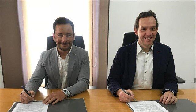El responsable del PSOE en Ibiza, Rafa Ruiz (izquierda).