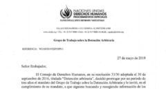 Inicio del informe del grupo de trabajo adscrito a las Naciones Unidas.