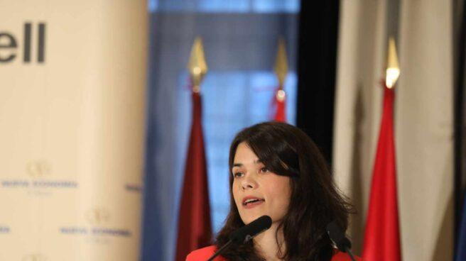 Isabel Serra, exportavoz de Unidas Podemos en la Asamblea de Madrid.