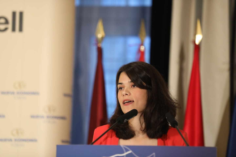 La candidata de Podemos a la Comunidad de Madrid, Isabel Serra.