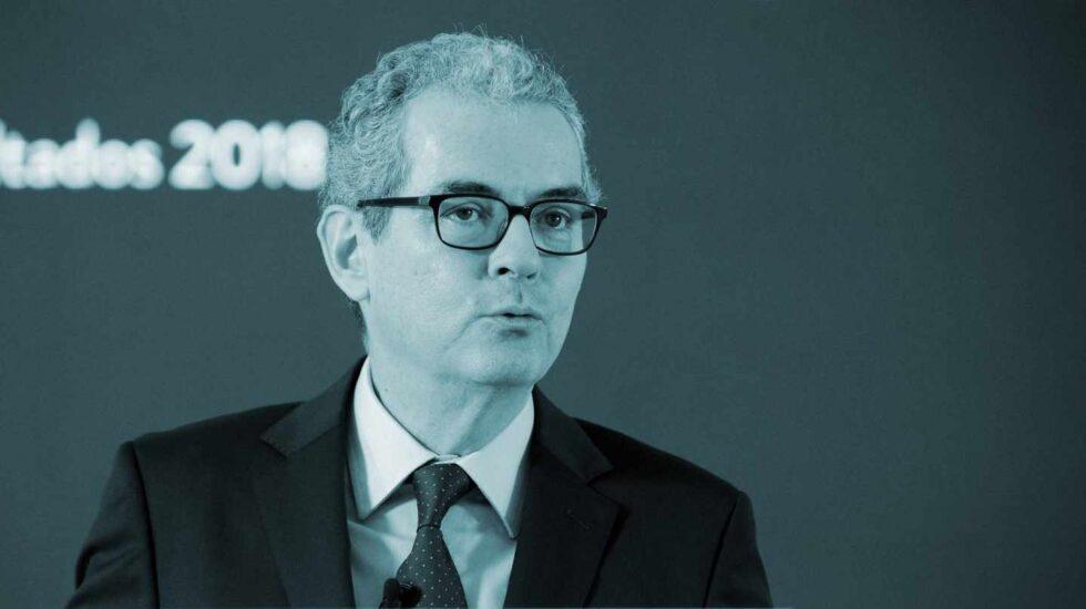 El presidente ejecutivo de Inditex, Pablo Iglesias.