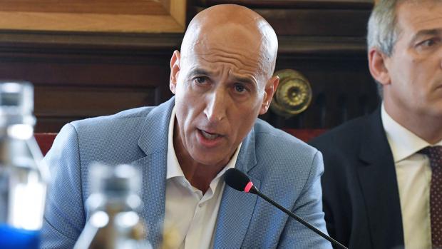 José Antonio Díez, candidato del PSOE en León.