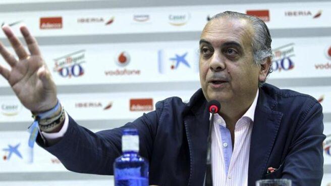 El ex presidente de la FEB, José Luis Sáez.