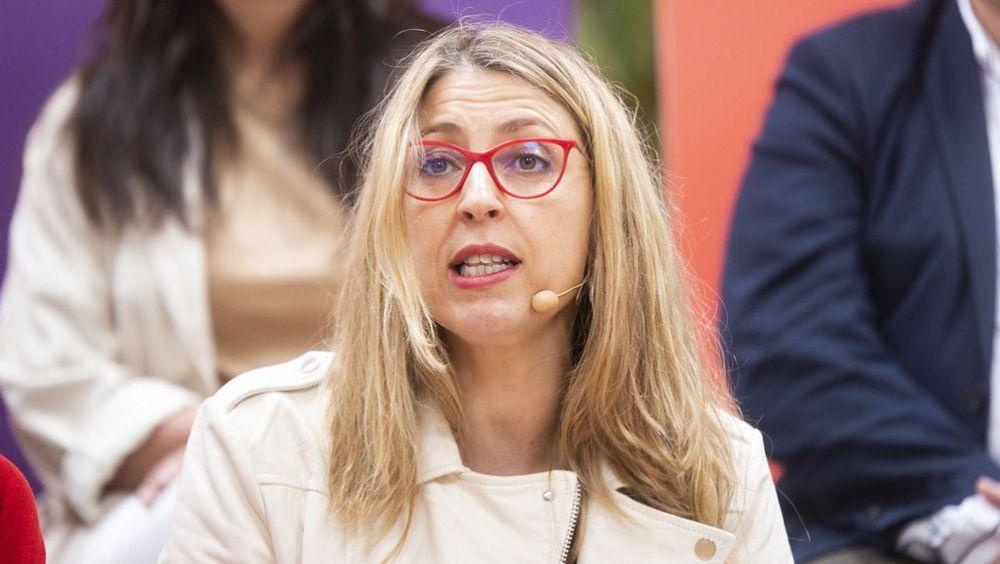 La candidata de Podemos a las europeas, María Eugenia Rodríguez Palop