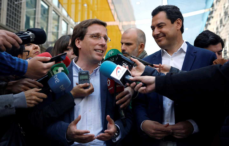 José Luis Martínez-Almeida, candidato del PP a la alcadía de Madrid.
