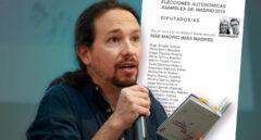 La cara de Carmena y Errejón en la papeleta indigna a Iglesias: apoyará a Sánchez Mato