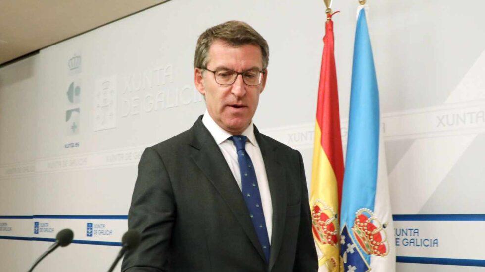 Alberto Núñez-Feijóo.
