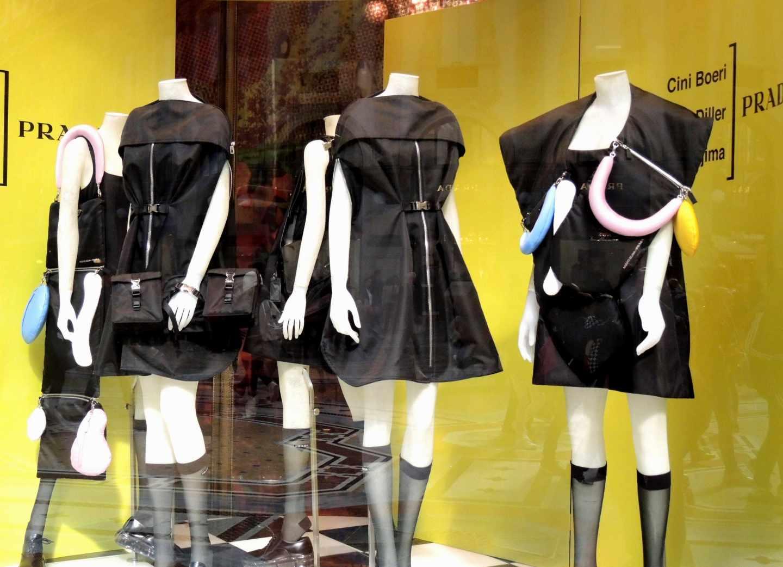 Colección de Prada, presentada en Milán.