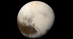 Plutón desde la nave New Horizons