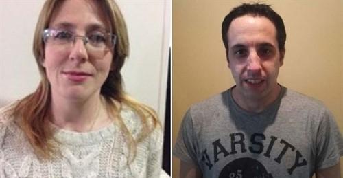 Rocío Pérez Trueba y Jacob San Emeterio, candidatos de Podemos al Ayuntamiento de Laredo y al Parlamento de Cantabria.
