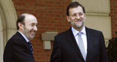 El día que Rajoy le pidió a Rubalcaba que aguantara