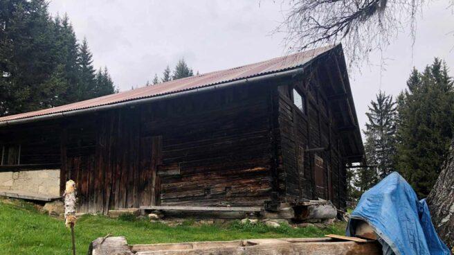 Refugio de montaña en el que se escondía el etarra Josu Ternera, en los Alpes franceses.