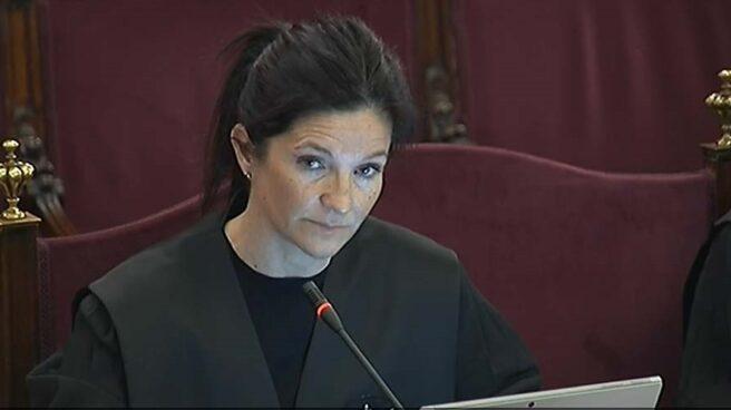 Rosa María Seoane, abogada del Estado, en el Supremo.