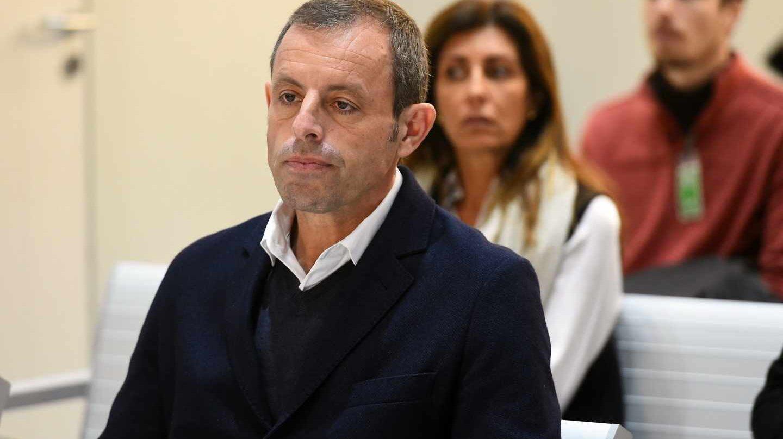 El ex presidente del Barcelona Sandro Rosell, absuelto tras dos años en prisión preventiva.