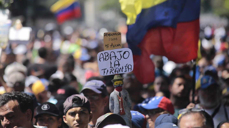 Manifestaciones en Venezuela contra Nicolás Maduro.