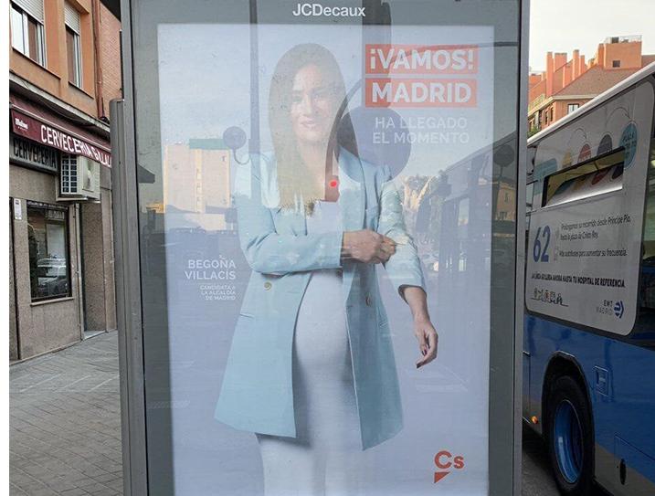 Campaña de Begoña Villacís.