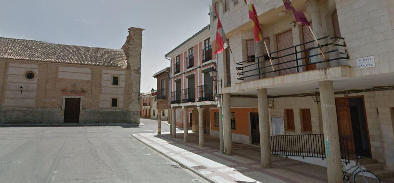 Plaza de España de Villarramiel (Palencia)