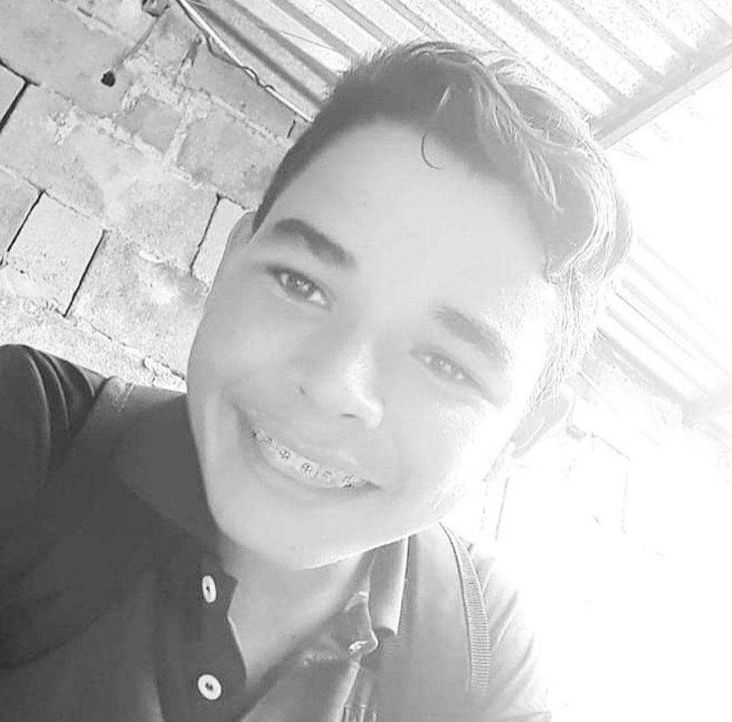 Yonder Villasmil, de 15 años, murió asesinado por la Guardia Nacional Bolivariana en el estado de Mérida, Venezuela.