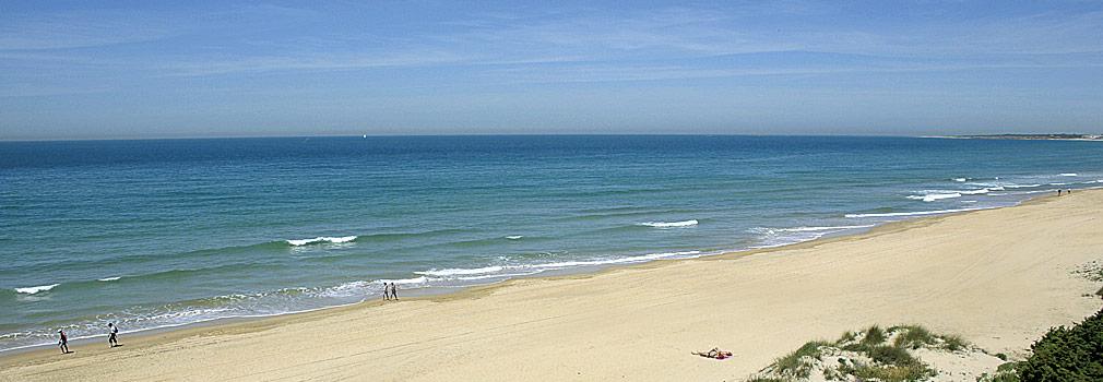 Playa La Barrosa, Chiclana (Cádiz)