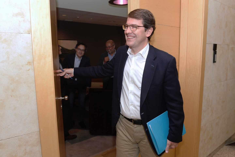 El candidato del PP a la presidencia de la Junta, Alfonso Fernández MañuecoEl candidato del PP a la presidencia de la Junta, Alfonso Fernández Mañueco