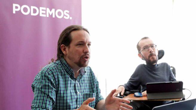 Iglesias y Echenique, en el Consejo Ciudadano de Podemos.