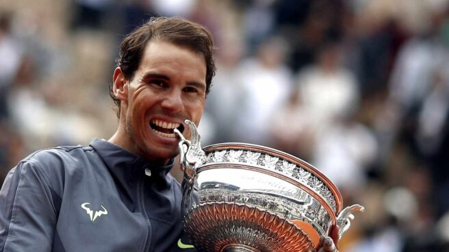 Rafael Nadal, tras obtener su duodécimo Roland Garros.