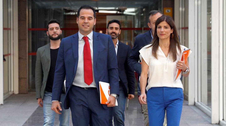 El candidato a la presidencia de la Comunidad de Madrid, Ignacio Aguado