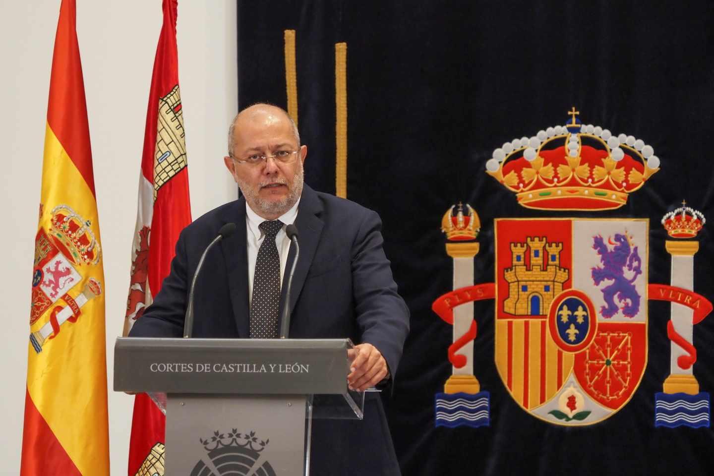 El candidato de Ciudadanos en Castilla y León, Francisco Igea