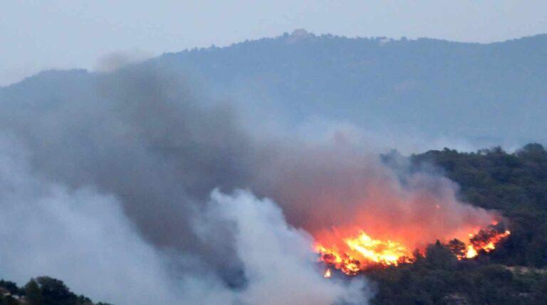Incendio en Tarragona.