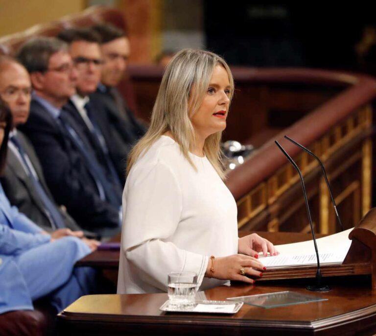 """Duro discurso de Mar Blanco en el Congreso contra el """"blanqueamiento"""" de Bildu"""