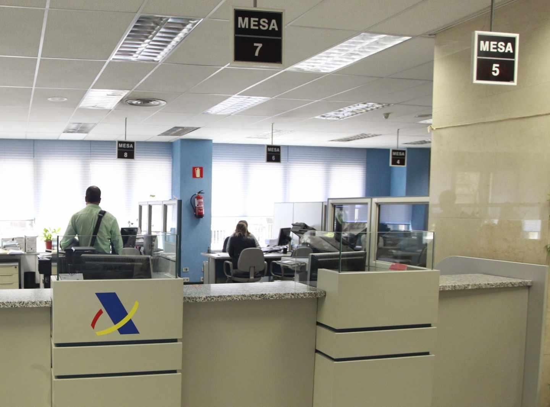 Dependencias de la Agencia Tributaria en Madrid.