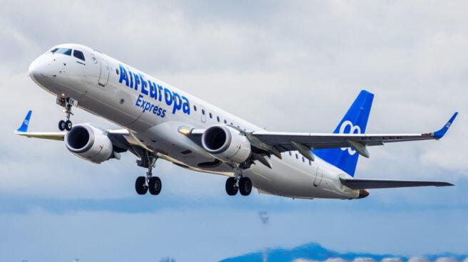 Un avión de Air Europa Express.