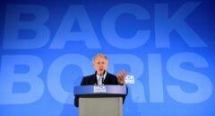 El ex ministro británico de Exteriores Boris Johnson presenta su campaña para ser líder conservador.
