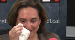 """Ada Colau rompe a llorar en la radio: """"Han sido semanas muy duras"""""""