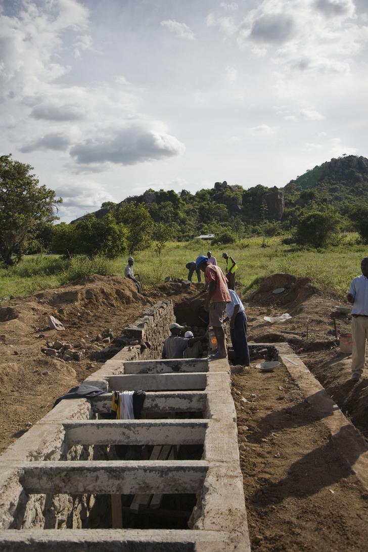 Voluntarios para llevar agua