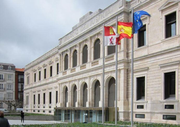 Palacio de Justicia de Burgos.